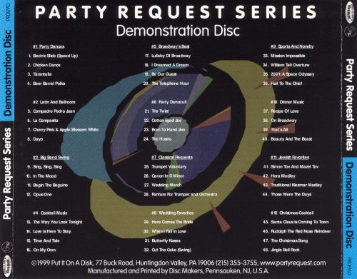 Party Request Series