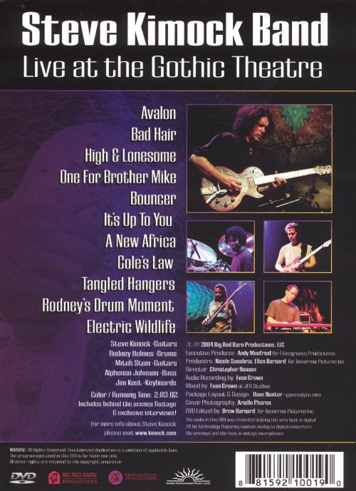 Live at the Gothic Theatre