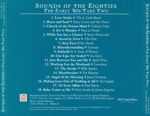 Sounds of the Eighties: The Early '80s, Take Two