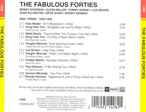 The Fabulous 40's [Disc 3]