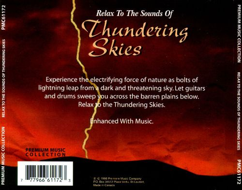 Relax to the Sounds of Thundering Skies
