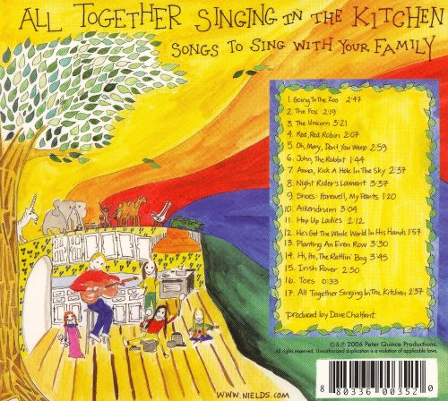 All Together Singing in the Kitchen