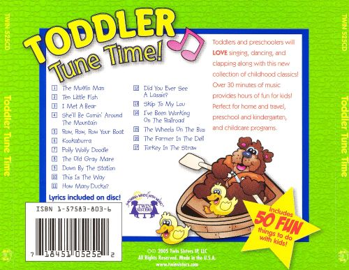 Toddler Tune Time!