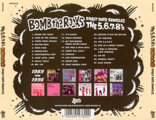 Bomb the Rocks: Early Days Singles 1989