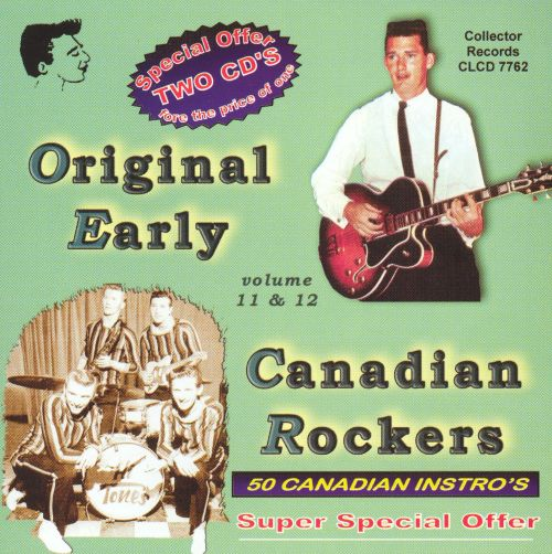 Early Canadian Rock and Roll Instro's, Vol. 11-12