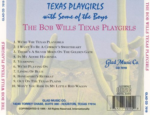 Texas Playgirls with Some of the Boys