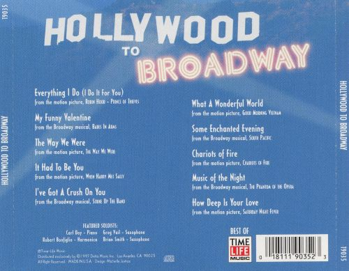 Hollywood to Broadway, Vol. 2