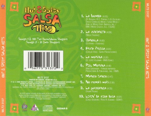 Hot and Spicy Salsa Hits [Disc 1]