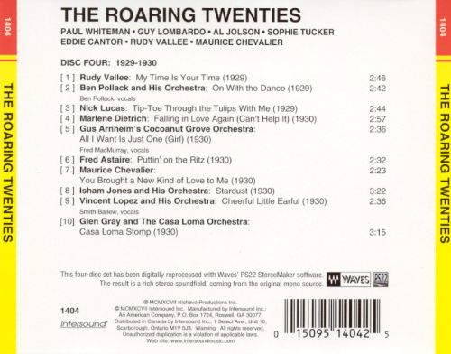 The Roaring Twenties [Intersound Disc 4]