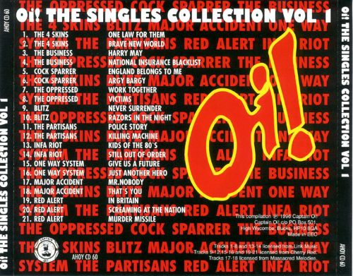 Oi! The Singles Collection, Vol. 1 [Captain Oi]