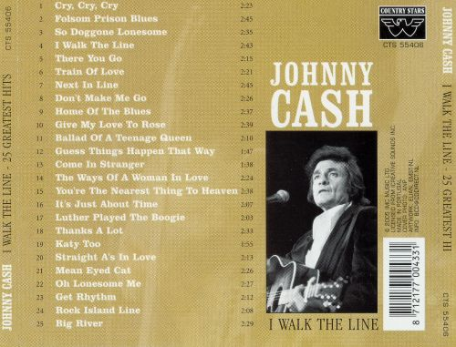 I Walk the Line: 25 Greatest Hits