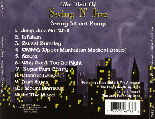 Best of Swing n' Jive: Swing Street Romp