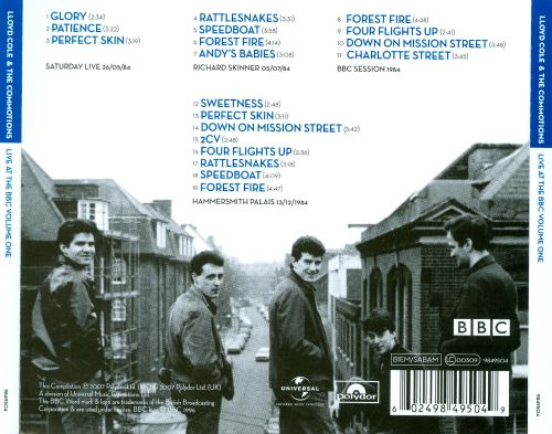 Live at the BBC, Vol. 1 [Lloyd Cole & the Commotions]
