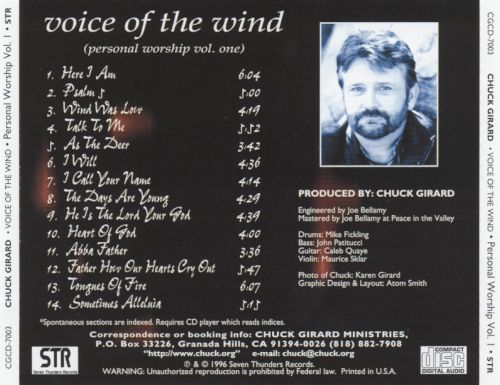 Voice of the Wind: Personal Worship, Vol. 1