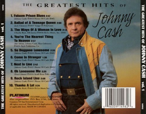 Greatest Hits of Johnny Cash, Vol. 1