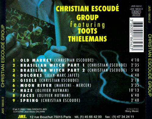 Christian Escoude Group Featuring Toots Thielemans
