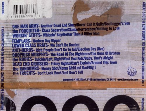 Cheap Shots and Low Blows, Vol. 1: The TKO Singles 1997-1998