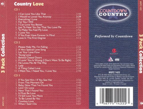 Country Love [Countdown Country Box 2002]