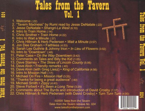 Tales from the Tavern, Vol. 1