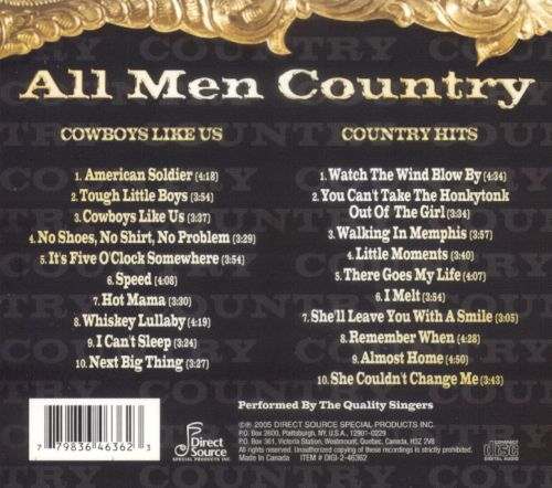 All Men Country