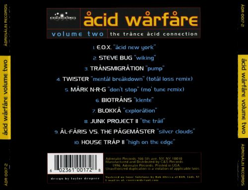 Acid Warfare, Vol. 2