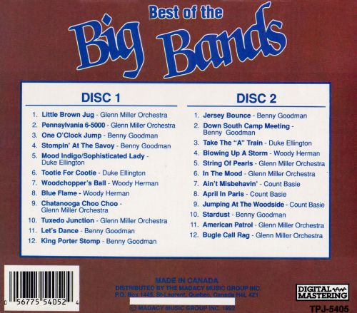 The Best of the Big Bands, Vol. 1-2