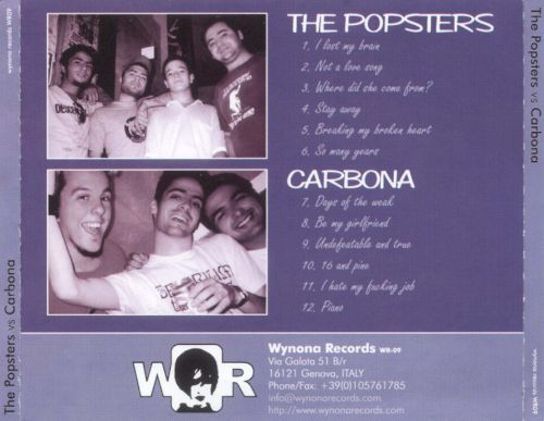 The Popsters vs Carbona