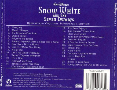 Snow white and the seven dwarfs songs with lyrics