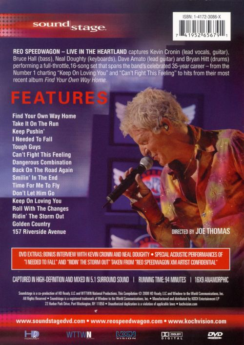 Soundstage: REO Speedwagon - Live in the Heartland [DVD]