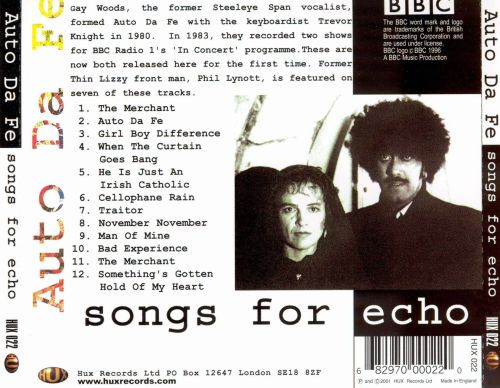 Songs for Echo