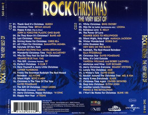 The Very Best of Rock Christmas - Various Artists | Songs, Reviews ...