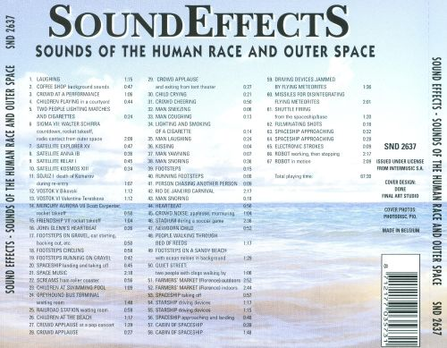 Sound Effects: Sounds of the Human Race and Outer Space