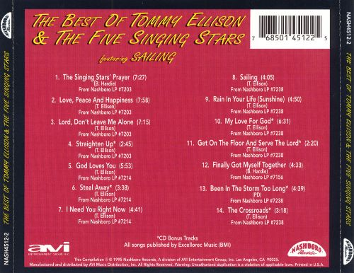 The Best of Tommy Ellison