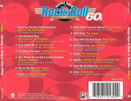 Happy Days of Rock 'n' Roll 60s - Disc 2