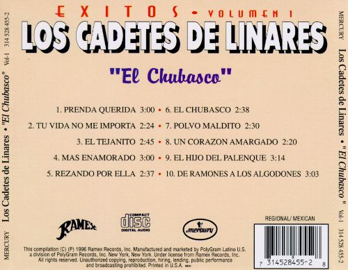 Exitos 1: El Chubasco