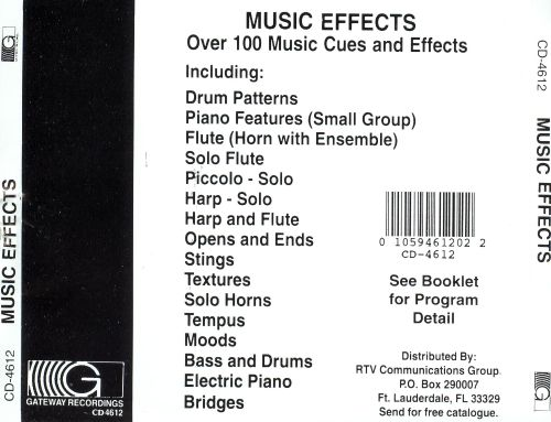 Music Effects, Vol. 1-2