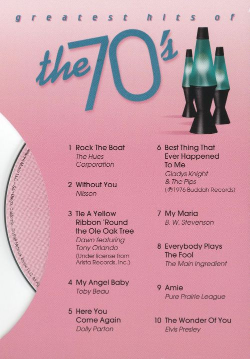 Greatest Hits of the 70's [BMG Greeting Card CD]