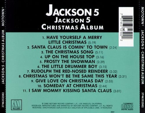 The Christmas Album - The Jackson 5 | Songs, Reviews, Credits ...