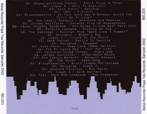 Belial Records/Pope Yes Records: Sampler 2002