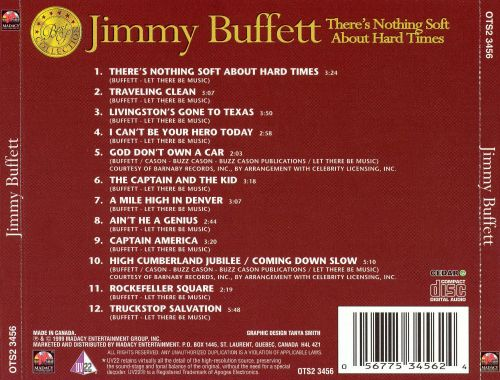 There's Nothing Soft About Hard Times [1 CD]