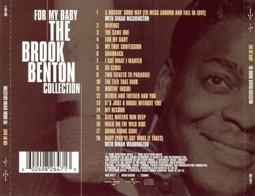 For My Baby: The Brook Benton Collection