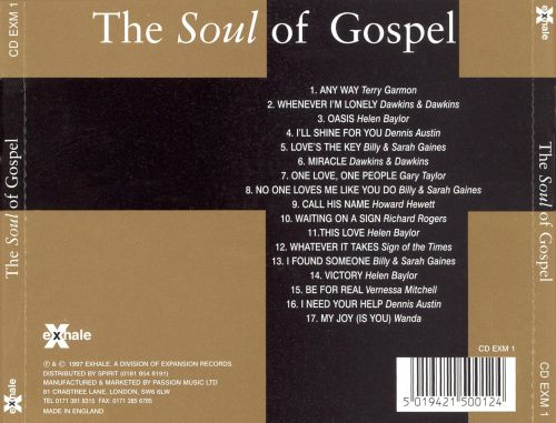 The  Soul of Gospel [Expansion]