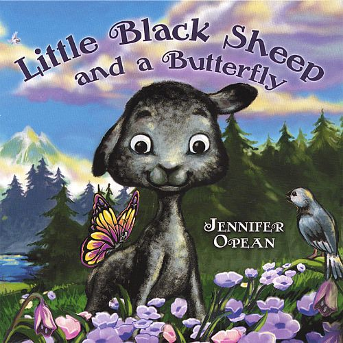 Little Black Sheep and a Butterfly
