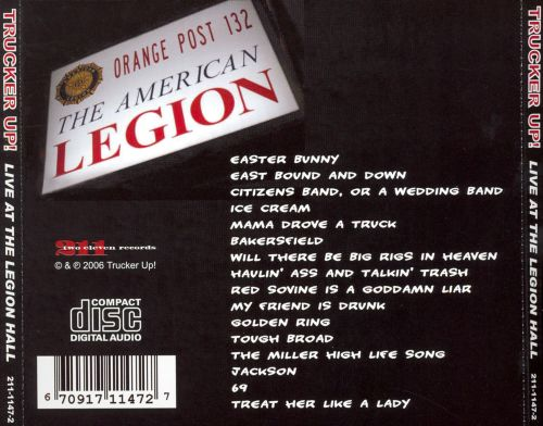 Live at the Legion Hall