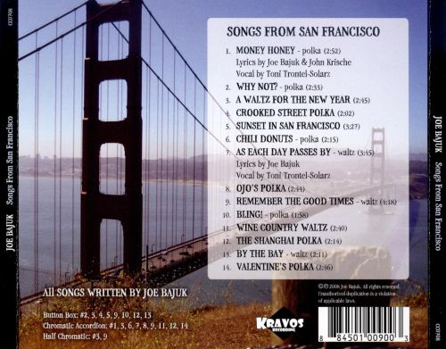 Songs from San Francisco