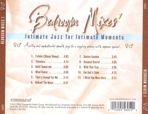 Bedroom Mixes, Vol. 1: Intimate Jazz for Intimate