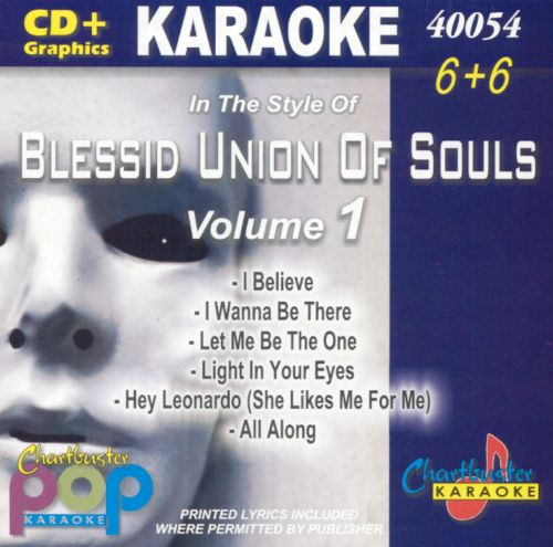 Chartbuster Karaoke: Blessed Union of Souls, Vol  1