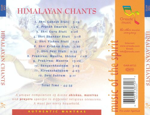 Himalayan Chants: The Divine Sounds of Spirituality [Oreade]