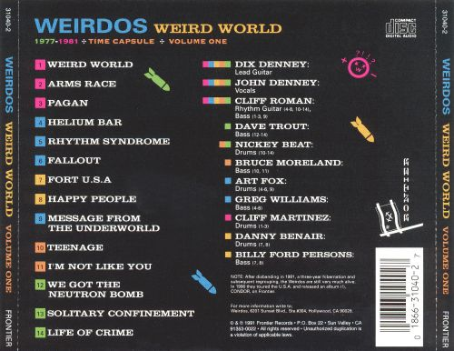 Weird World, Vol. 1