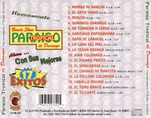 17 Exitos [Brentwood]